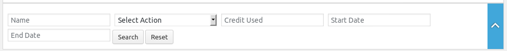 Employer Credits Log
