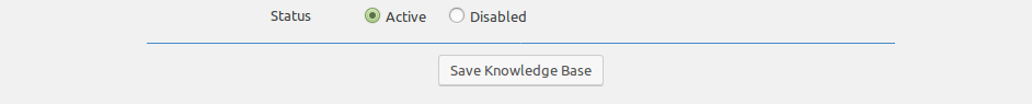 Add Knowledge Base