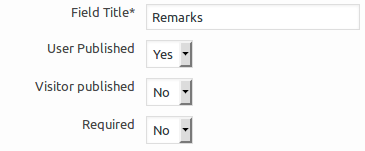 Feedback Fields